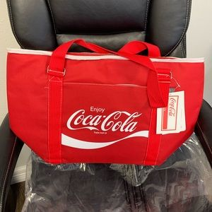 NWT Large Coca Cola Insulated Tote